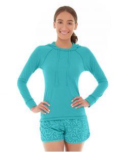 Hera Pullover Hoodie-L-Blue