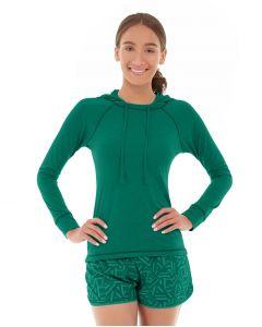 Hera Pullover Hoodie-XS-Green