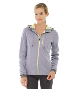 Phoebe Zipper Sweatshirt-L-Gray